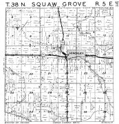 Squaw Grove Township, Hinckley, DeKalb County 1947